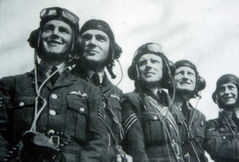 An Image of Soldiers During The Battle of Britain