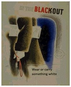 An Image of the 'Wear or carry something white' Poster
