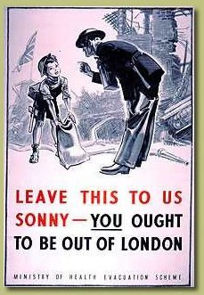 Home Sweet Home Front - 'Ought to be out of London' Poster