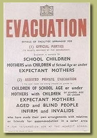 Home Sweet Home Front - 'Evacuation' Poster