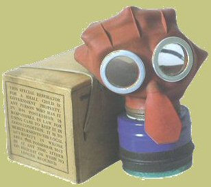 Home Sweet Home Front - 'Mickey Mouse' gas mask design for children
