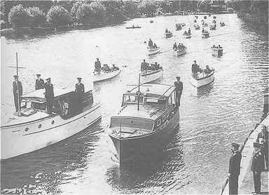 An Image Showing a Home Guard River Patrol