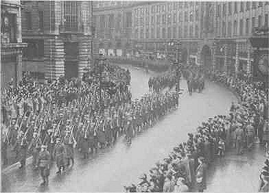 An Image of the Home Guard  Stand-Down Parade in London