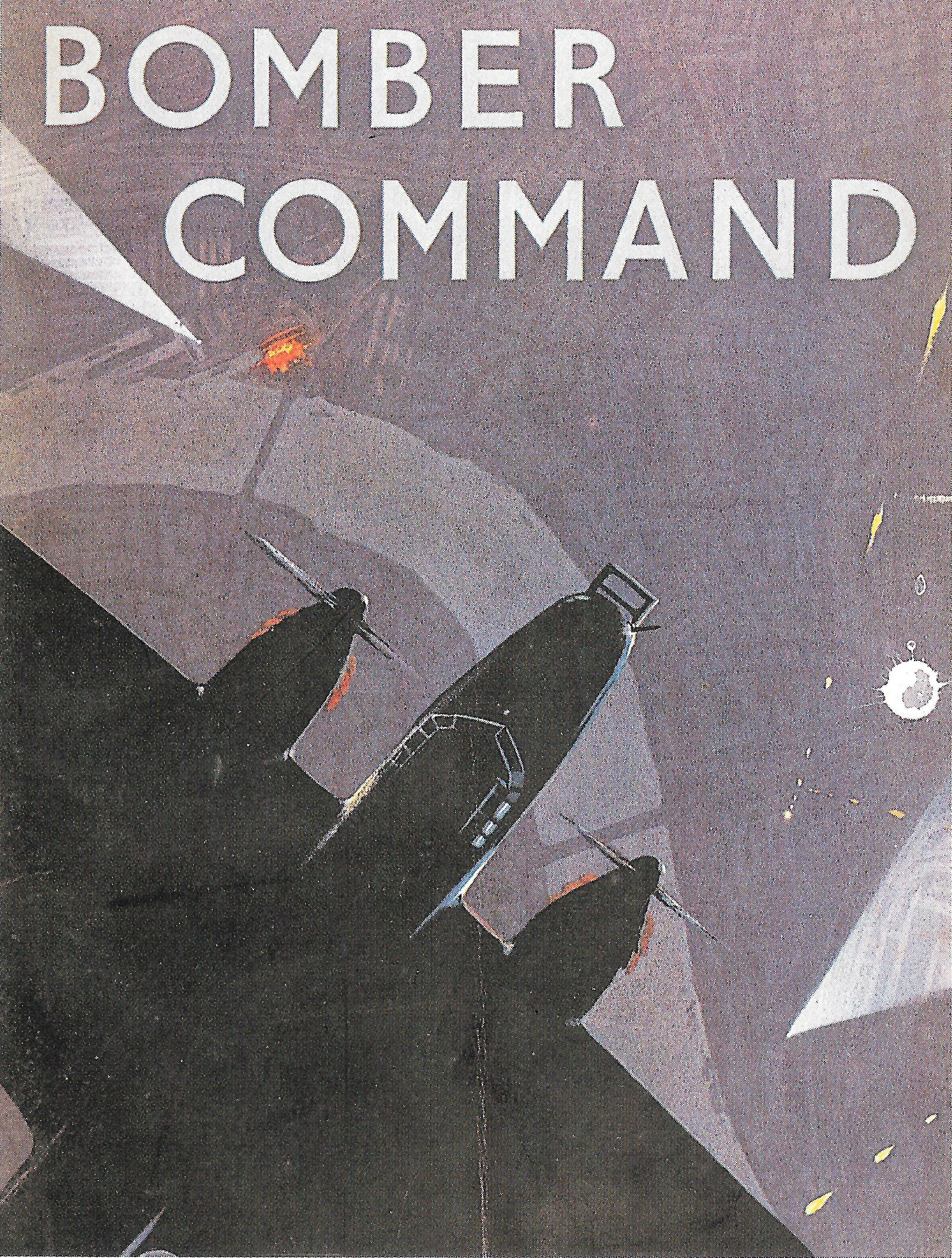 An Image of a Poster Reading 'Bomber Command'
