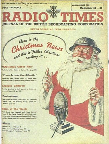 Home Sweet Home Front - 'Father Christmas 1942' Image
